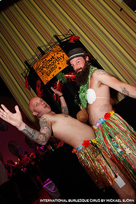 charity games at the International Burlesque Circus - the Exotic Sensations edition