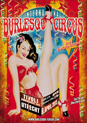 The International Burlesque Circus the 2nd birthday edition